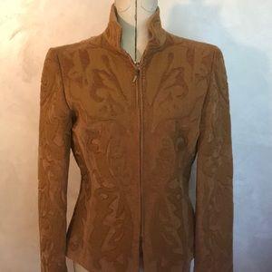 3/$25 Linda Allard Corduroy Fitted Jacket
